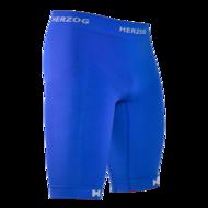Herzog pro compressiebroek blauw kopen