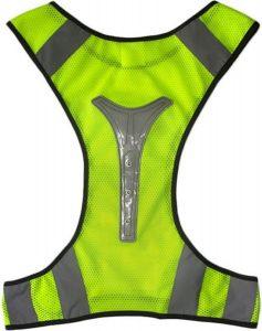 Vest met hardlooplampjes